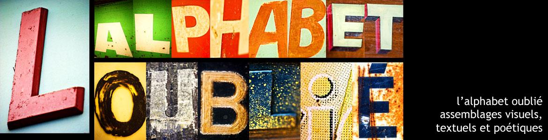 l'alphabet oublié